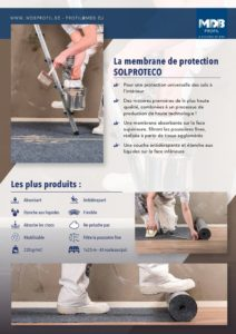 Membrane de protection Solproteco