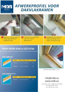 Afwerkprofiel voor dakvlakramen